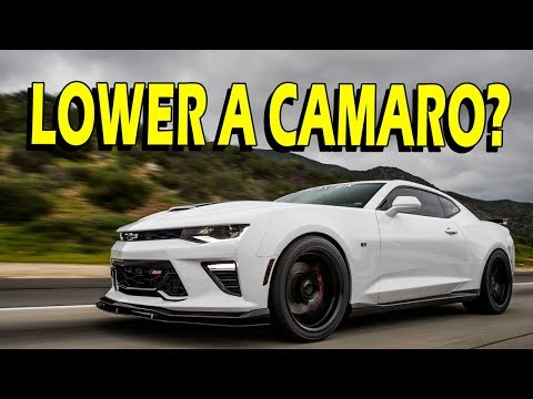 2016 Camaro SS – Lowering Springs with and without MRC (Vlog)