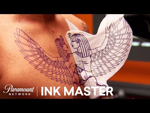 'Egyptian' Elimination Tattoo Part I | Master Vs. Apprentice (Season 6)