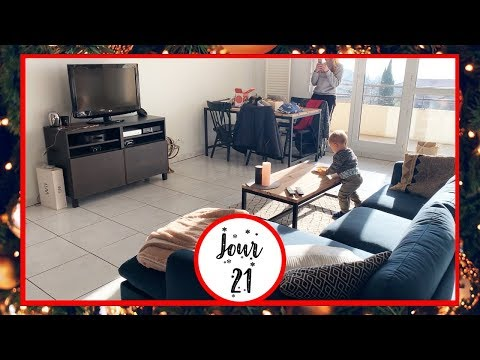 ON RÉAMÉNAGE LE SALON - VLOGMAS 21