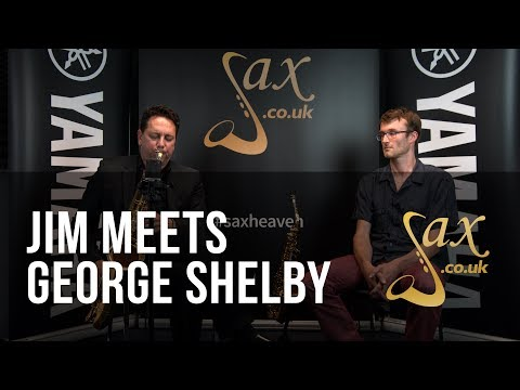 Jim Meets George Shelby