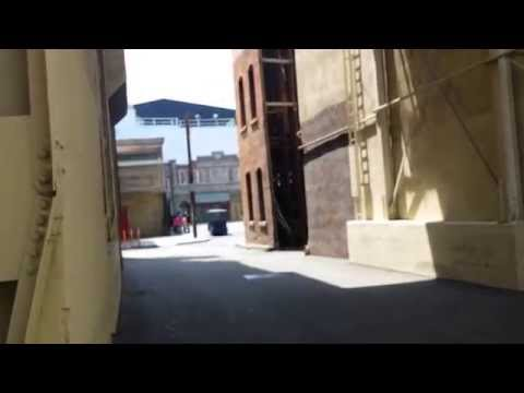 American Woman RV A Slice of Paramount Studios Back lot Hollywood Ca