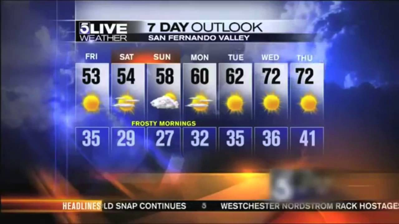What is the Weather in Los Angeles in January | Free Tours