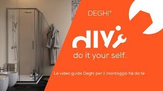 Come montare un box doccia rettangolare/quadrato Moritz - TUTORIAL Deghi