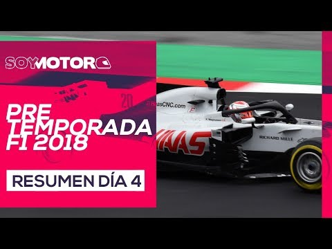 F1 2018 Test Barcelona, día 4 – Resumen jornada