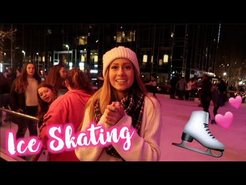 ICE SKATING IN PITTSBURGH! Vlogmas Day 22