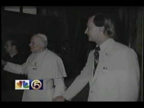 Pope John Paul II, Meeting and filming him in the Vatican