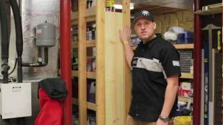 Busy Dad's Workshop: Hidden In-wall Storage