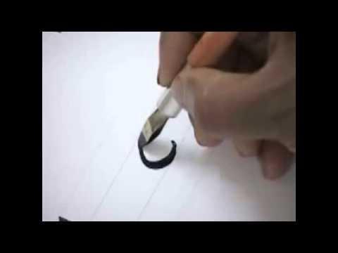 easy calligraphy fonts - YouTube