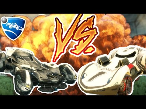 HOT WHEELS VS BATMOBILE! | Rocket League Solo