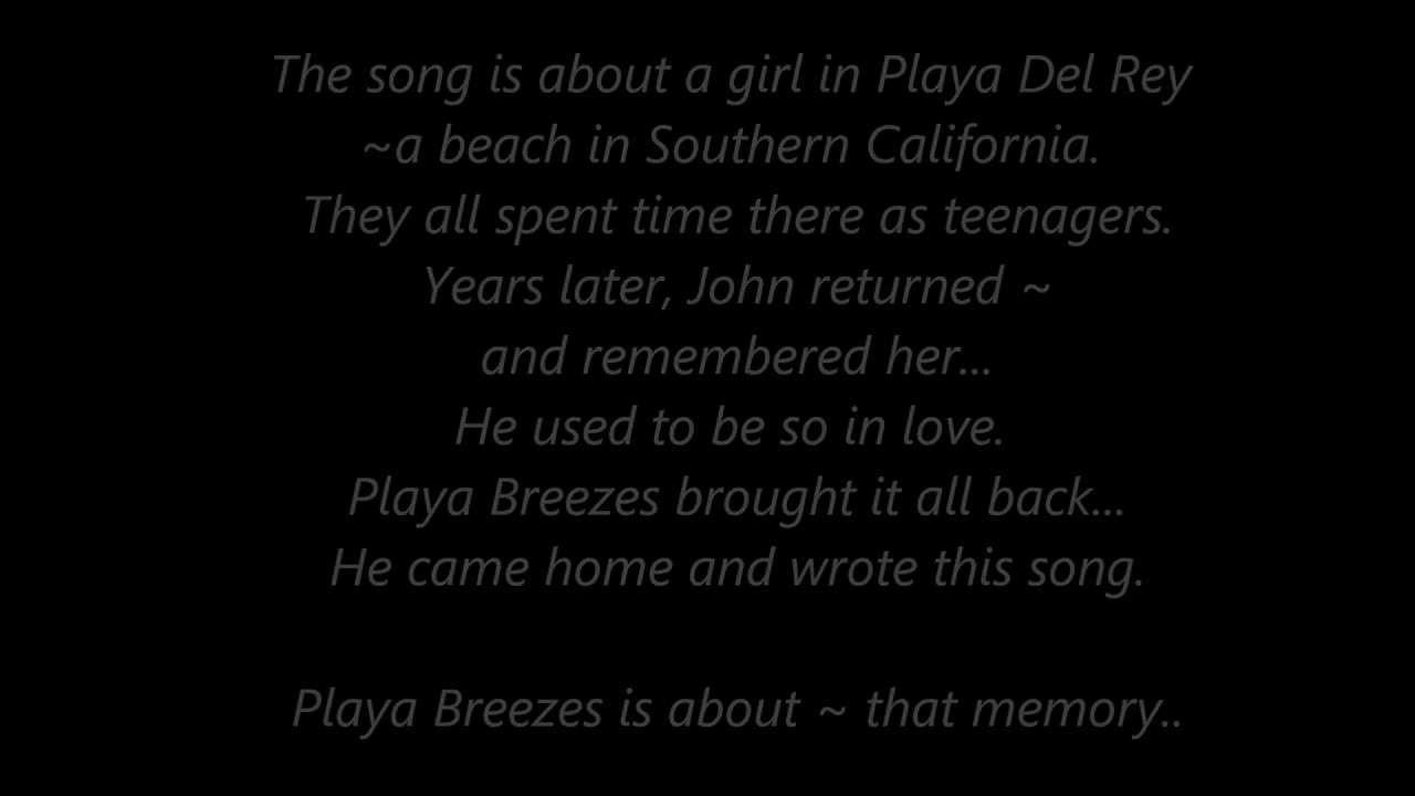 White apron john sokoloff - John Sokoloff Playa Breezes The Story Of The Song