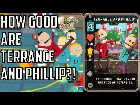 How good are Terrance and Phillip?! - South Park Phone Destroyer