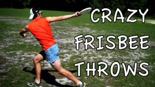 The Craziest Frisbee Throws | Brodie Smith