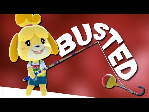 Fishing Rod is BROKEN! - Isabelle Smash Bros. Ultimate Montage