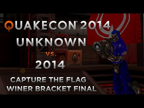 UNKNOWN Vs 2014 - QuakeCon 2014 CTF (Winners Final)