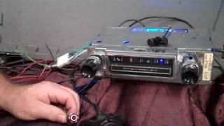 1965 C10 Chevy Truck original AM radio