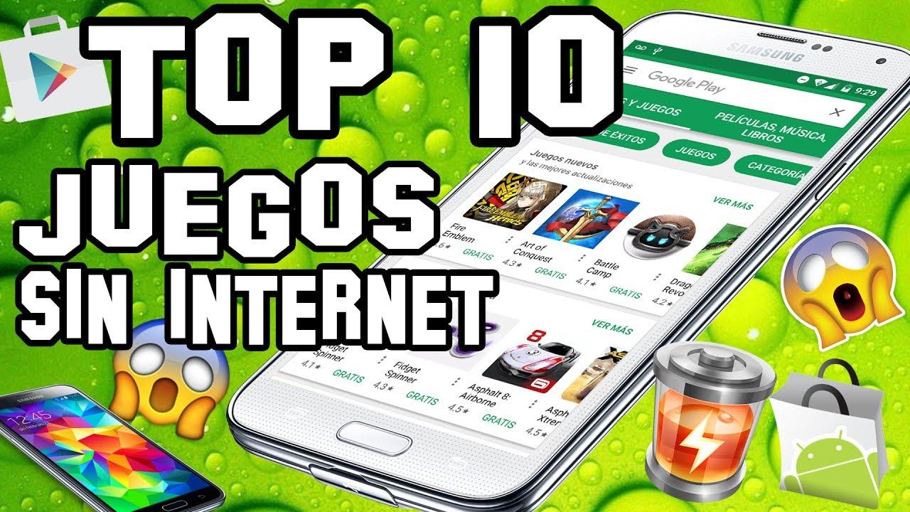 Top 10 Mejores Juegos Gratis Sin Internet Para Android Adictivos