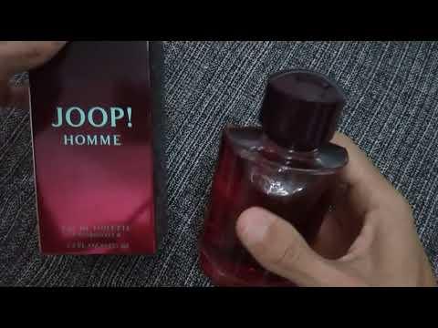 Perfume Masculino Joop Homme 125 Ml Unboxing