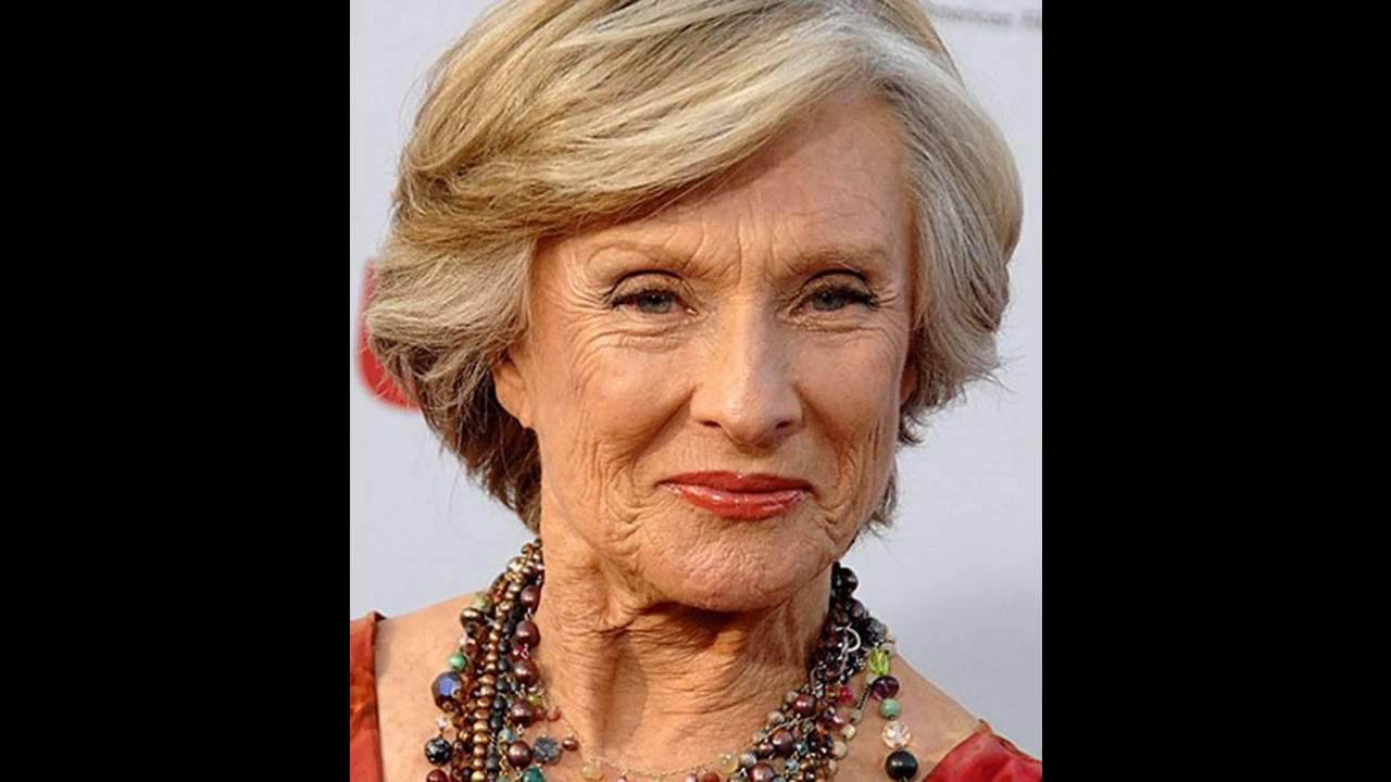 Short Hairstyle For Elderly