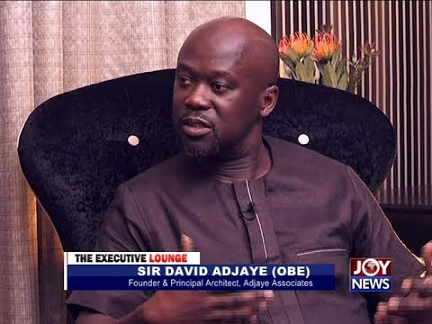 Sir David Adjaye (OBE) - The Executive Lounge on JoyNews (17-4-18)