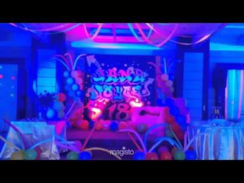 Neon Theme Party for Jana Joyce YouTube