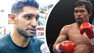 Manny Pacquiao vs Amir Khan set for November in Saudi Arabia