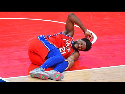 Joel Embiid injury update: 76ers star set for MRI after hard fall, exit in ...