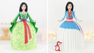 DISNEY PRINCESS: MULAN DOLL CAKE  Tan Dulce