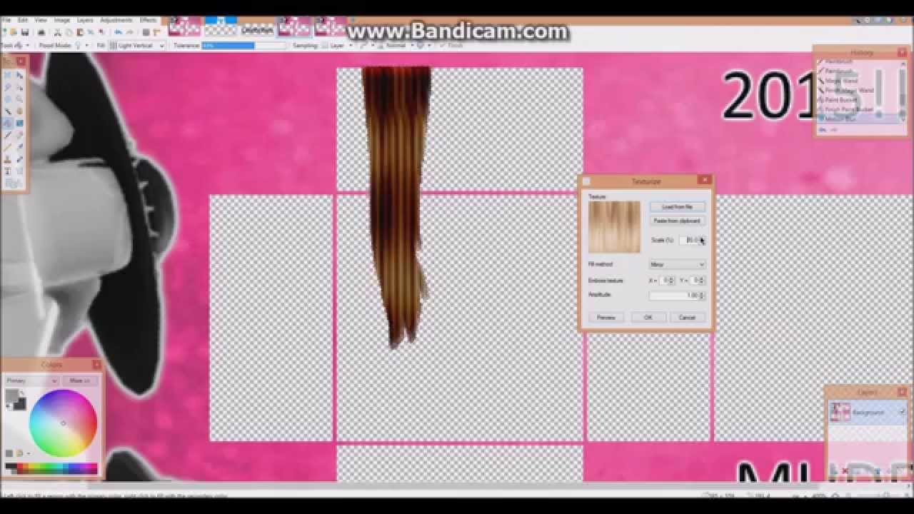 Roblox How To Make Hair Extention Dirty Blonde Youtube