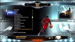 NBA 2K13 MyCareer Update: Dunk Packages, Signature Skills, Overall Rating #NBA2K13