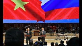 Открытие перекрёстных годов России во Вьетнаме и Вьетнама в России