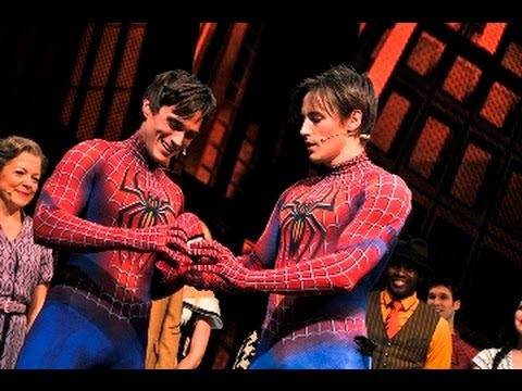REEVE CARNEY'S FINAL CURTAIN CALL & NEW SPIDER MAN REVEAL | SPIDER MAN TURN OFF THE DARK