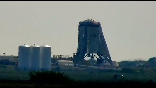 Exclusive Live  View SpaceX Prototype Boca Chica Beach Texas