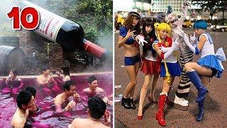 10 อันดับ เรื่องแปลก สุดอึ้ง ในประเทศญี่ปุ่น | OKyouLIKEs