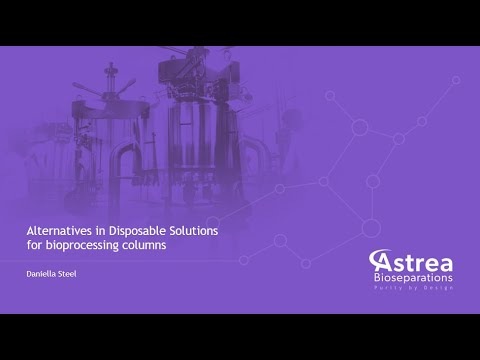 Daniella Steel presents Alternatives in Disposable Solutions at Biologics Manufacturing Korea 2021