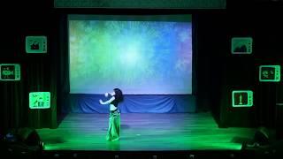 ЛЕТО, 2018 :: ЧЕТВЕРТАЯ СМЕНА / Открытие смены - Презентация кружка «Восточные танцы»
