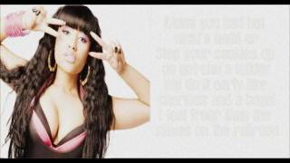 Nicki Minaj: I Feel Free Verse Lyrics HD