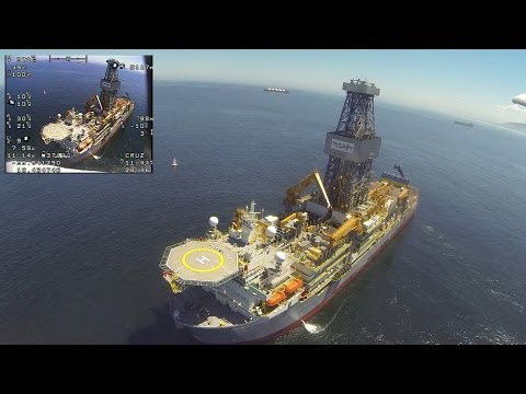FPV South Africa: Offshore Drilling Rig
