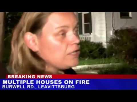 Arson Victim Solves Case on Live TV   Video