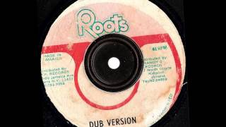 Barrington levy --  A Jah We Deh  & Dub --  roots in the yard  records