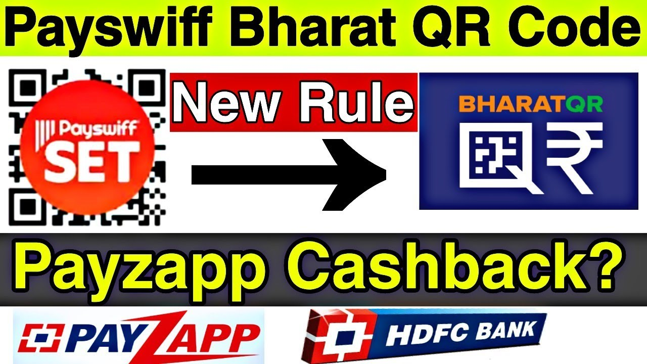 New!!! How to Get Payswiff Bharat QR Code After Registration    Payzapp  Cashback Not Receive ?