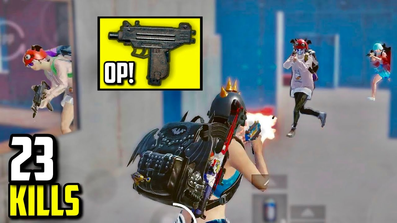 UZI + 6 Fingers + 90 FPS = TOO OVERPOWERED!! | PUBG Mobile