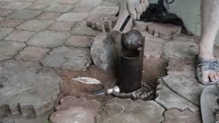Как я прочищал скважину желонкой и ее утопил! ))