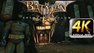 Batman Arkham Asylum 4k PC Gameplay on Ultra