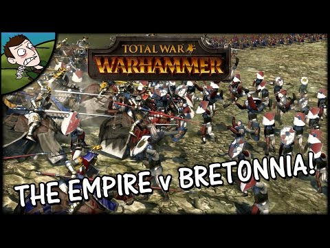 Total War WARHAMMER Gameplay - The Empire...