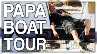 PAPANOMALY DRUNK BOAT TOUR (GONE WRONG)