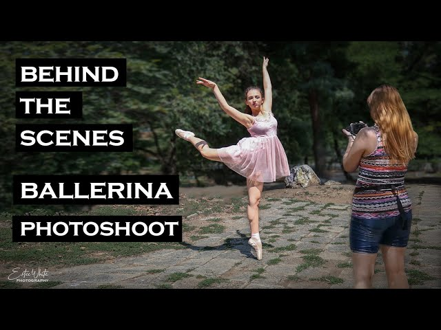 Behind The Scenes Photoshoot With Ballerina - Lubomira | Estee White Photography