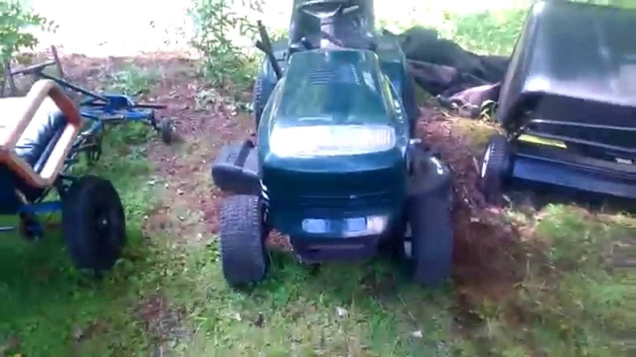 How to start mower engine with dead batterystartersolenoid how to start mower engine with dead batterystartersolenoid check description to put belt back on youtube sciox Images