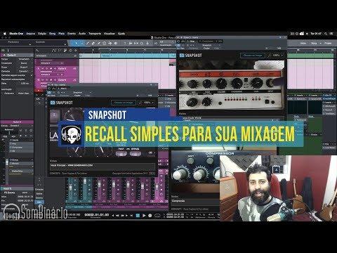 Recall Simples na Gravação, Mixagem e Masterização [SNAPSHOT]
