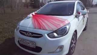 видео украшение свадебной машины