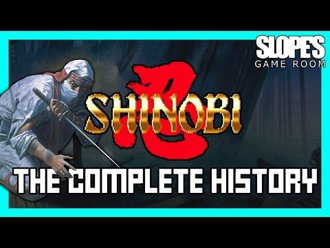 Shinobi: The Complete History - SGR